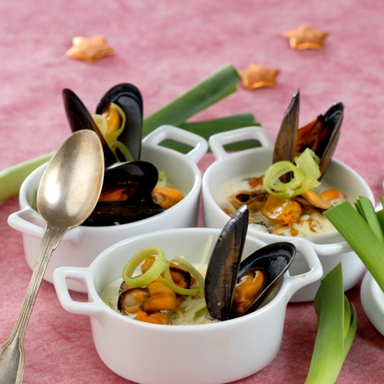 Mussels cassolettes