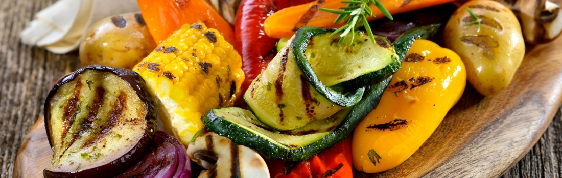 Grilled Mediterranean vegetable mix