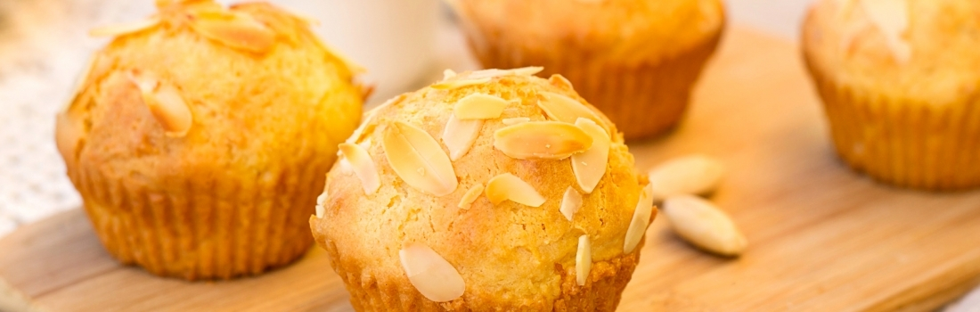 Almond Speculoos muffins